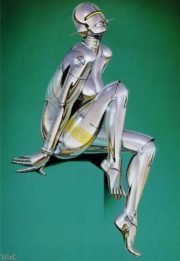 Erotic drawings by Japanese artist Hajime Sorayama - 58
