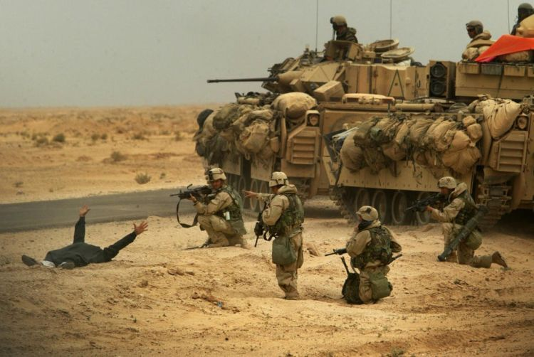 Seven years of war in Iraq - 113