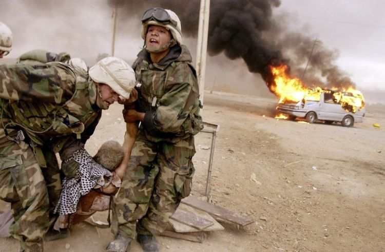 Seven years of war in Iraq - 129