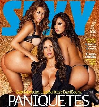 Stunning trio in the Sexy magazine