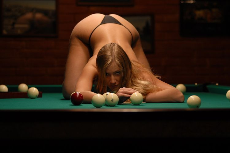 Girls and billiard - 04
