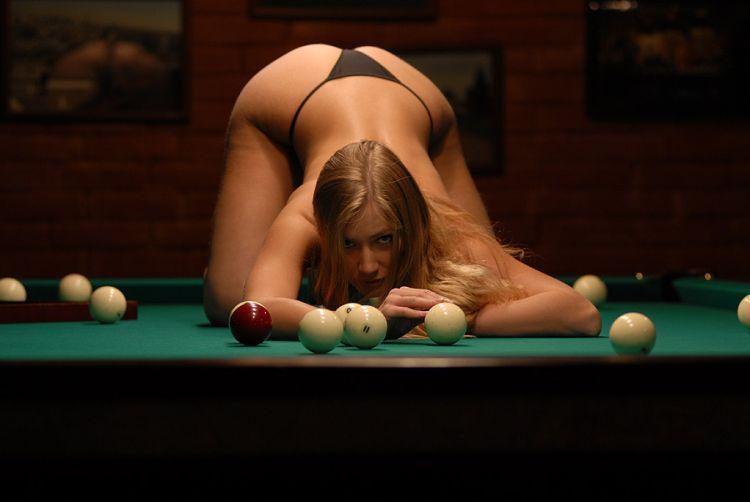 Girls and billiard - 04