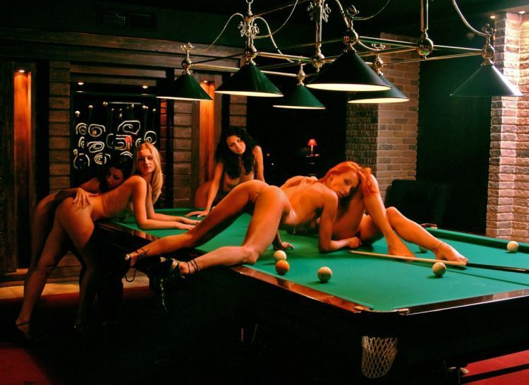 Girls and billiard - 08