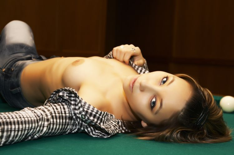 Girls and billiard - 11