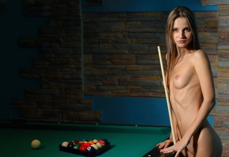 Girls and billiard - 14