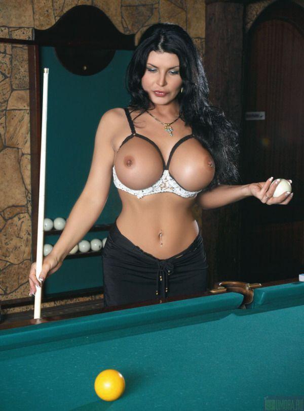 Girls and billiard - 21