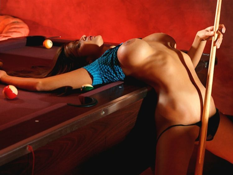 Girls and billiard - 30