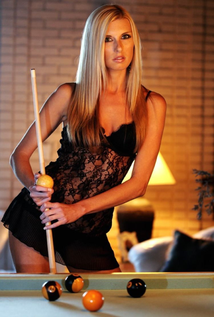 Girls and billiard - 31