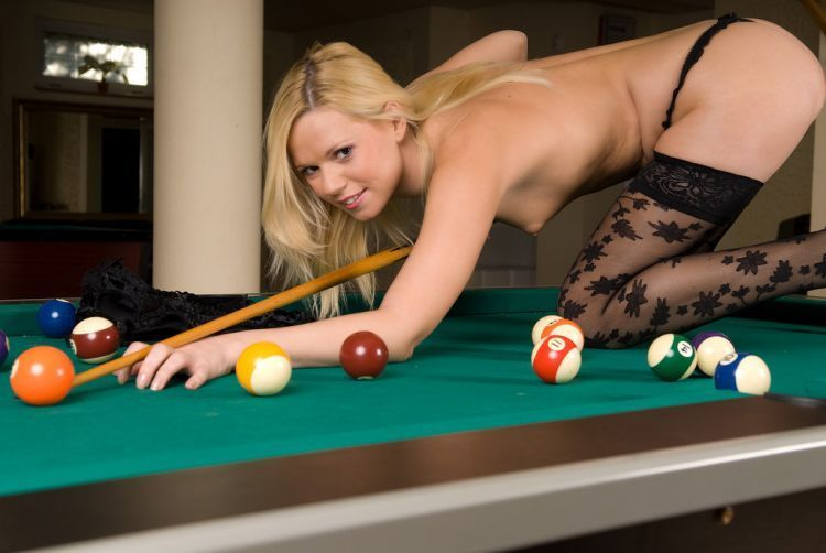 Girls and billiard - 42