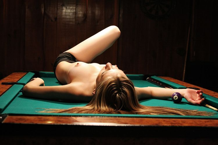 Girls and billiard - 47