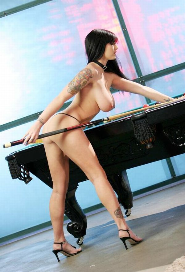 Girls and billiard - 53