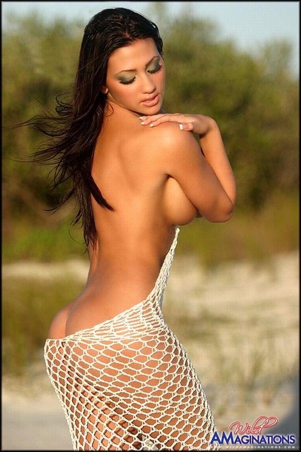 Mar naked Melissa gonzalez ass