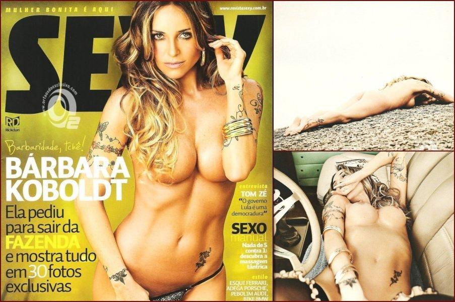 Amazing Bárbara Koboldt in Sexy magazine - 17