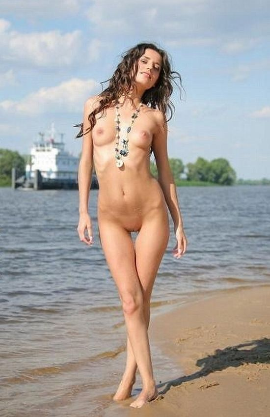 Hot summer and naked girls on the beach - 05