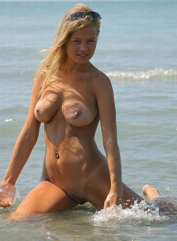 Hot summer and naked girls on the beach - 06