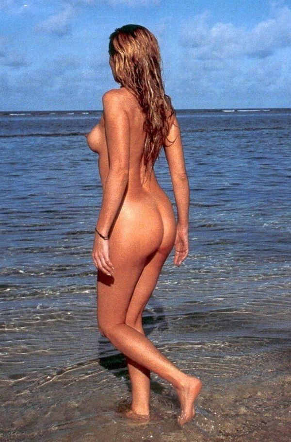 Hot summer and naked girls on the beach - 09