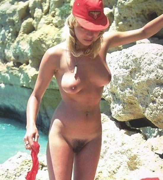 Hot summer and naked girls on the beach - 12
