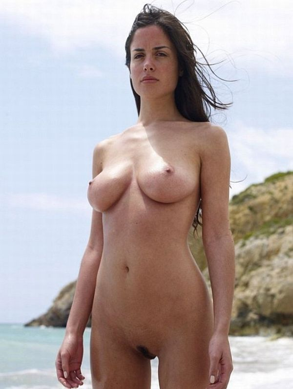 Hot summer and naked girls on the beach - 13