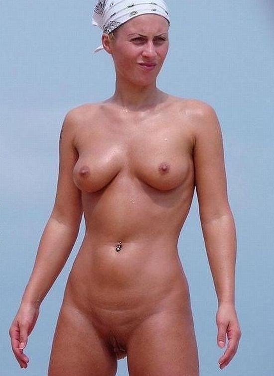 Hot summer and naked girls on the beach - 14