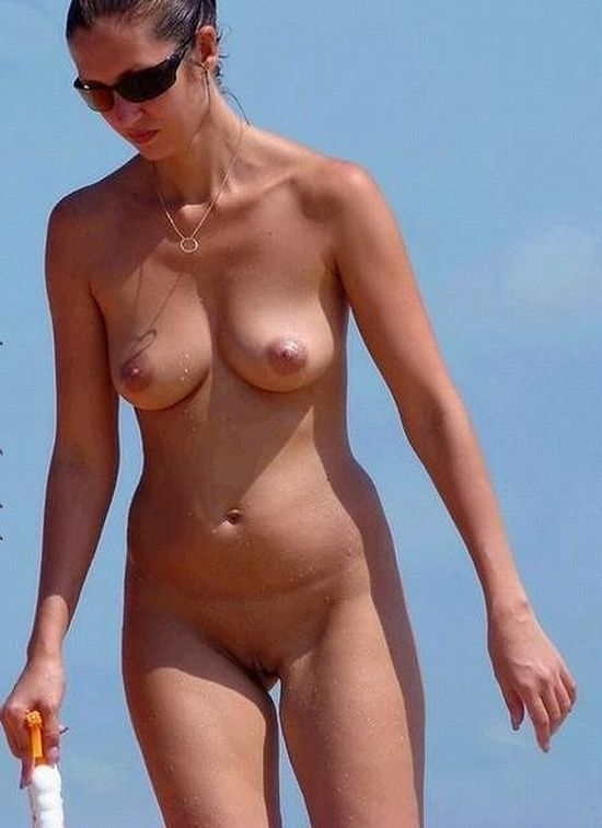 Hot summer and naked girls on the beach - 18