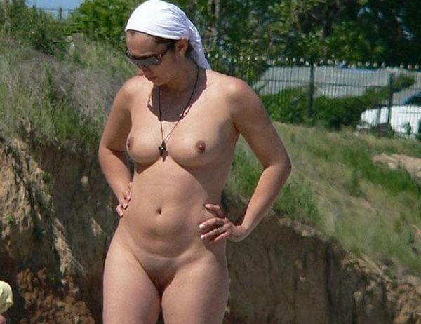 Hot summer and naked girls on the beach - 20