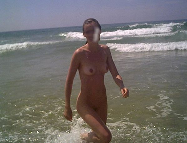 Hot summer and naked girls on the beach - 21