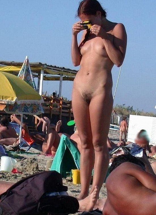 Hot summer and naked girls on the beach - 23