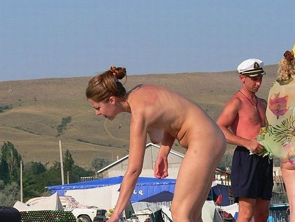 Hot summer and naked girls on the beach - 25