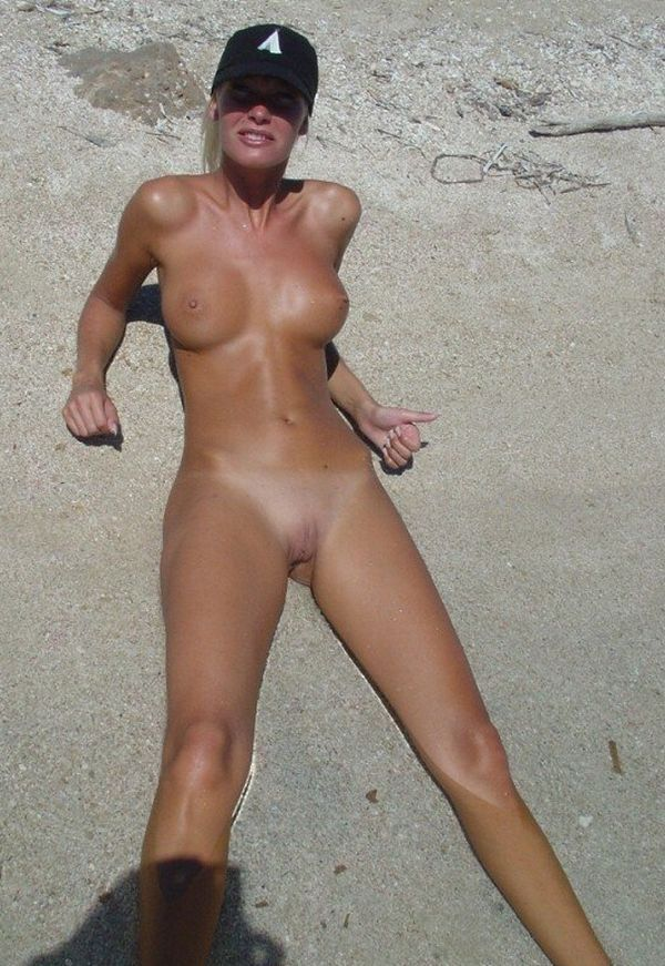 Hot summer and naked girls on the beach - 26