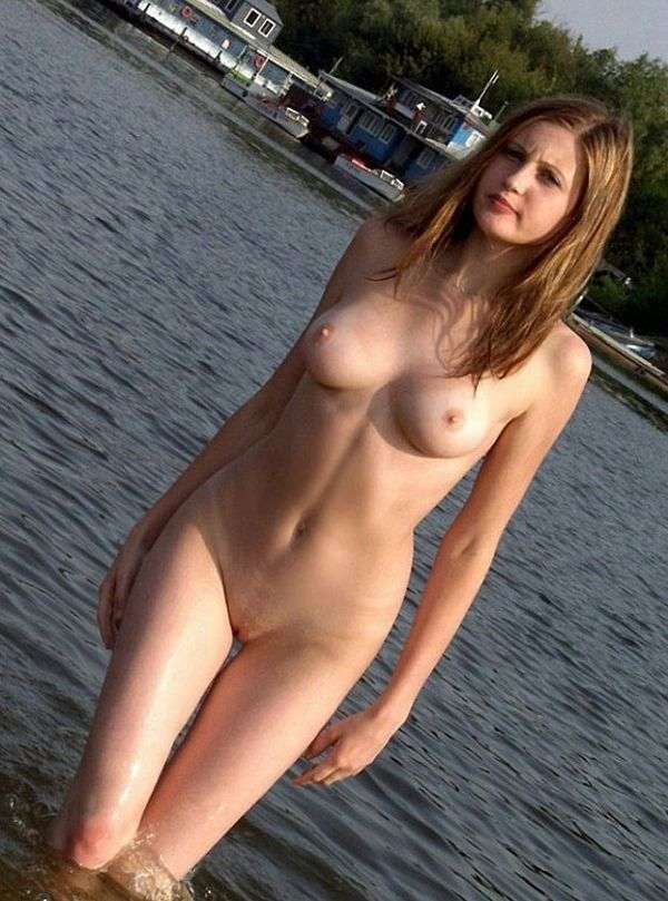 Hot summer and naked girls on the beach - 34