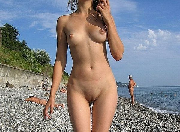 Hot summer and naked girls on the beach - 39