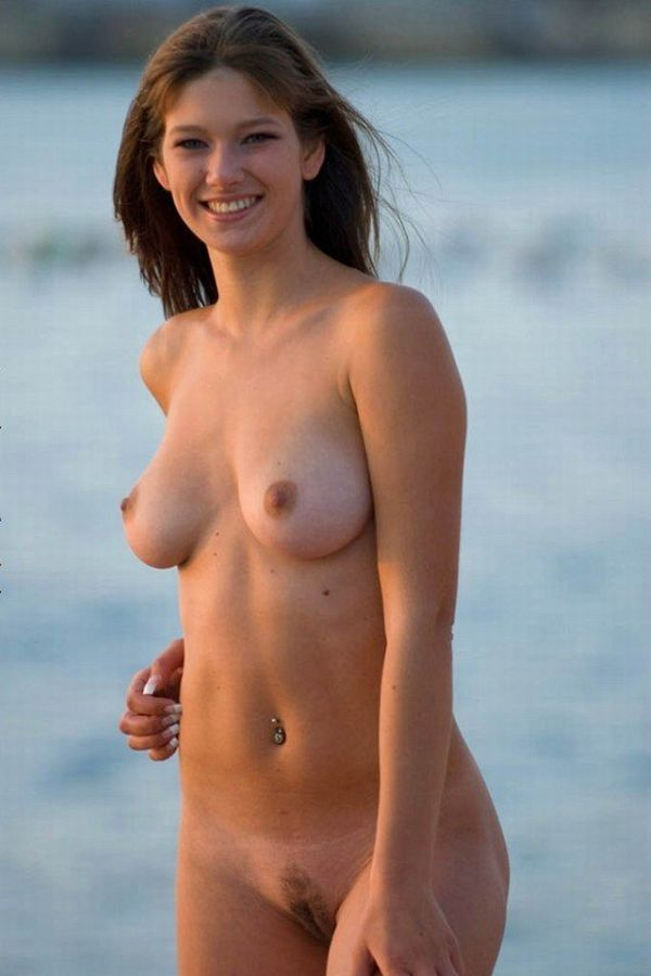 Hot summer and naked girls on the beach - 41
