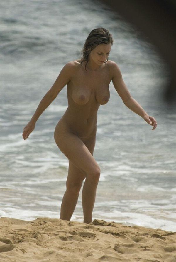 Hot summer and naked girls on the beach - 44