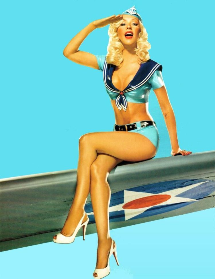 Compilation of the sexiest photos of Christina Aguilera - 05