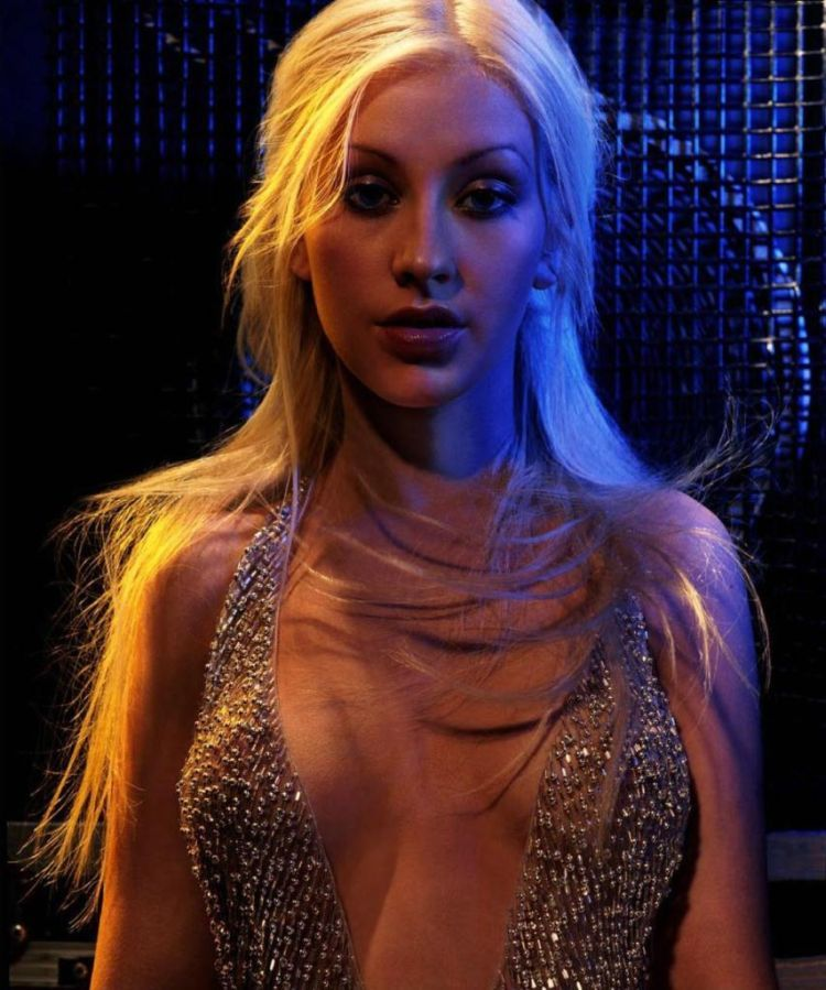 Compilation of the sexiest photos of Christina Aguilera - 24