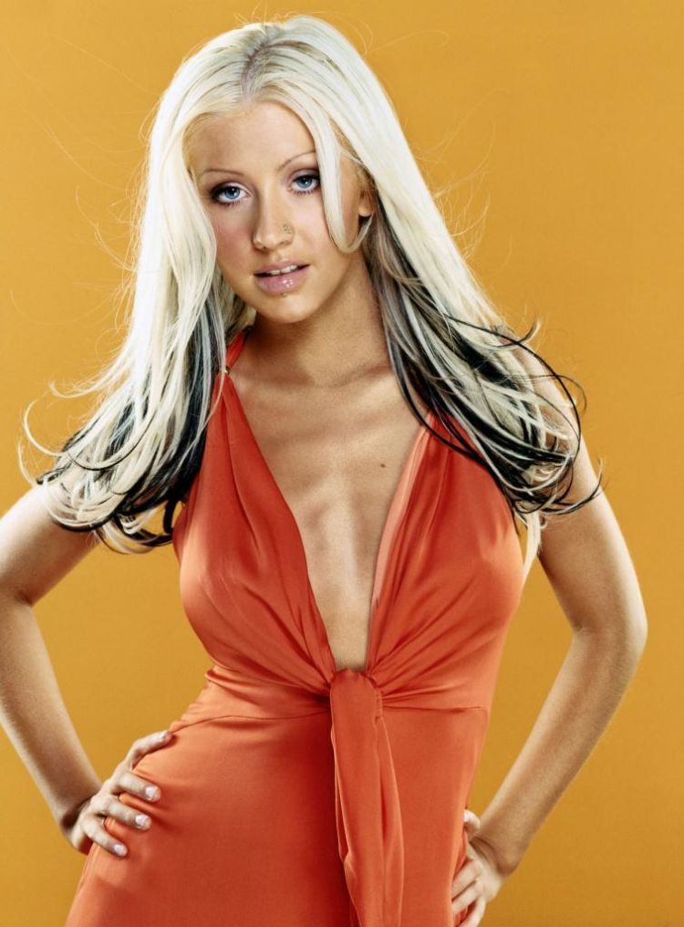Compilation of the sexiest photos of Christina Aguilera - 34