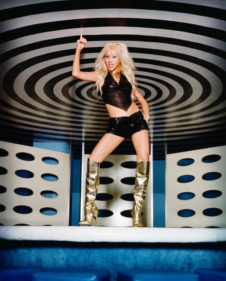 Compilation of the sexiest photos of Christina Aguilera - 36