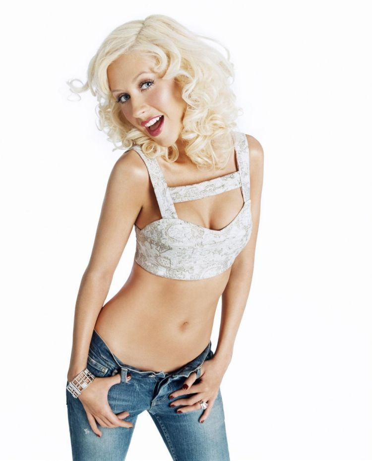 Compilation of the sexiest photos of Christina Aguilera - 49
