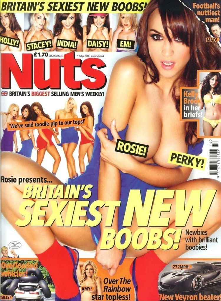 The most gorgeous tits of Britain in the new release of Nuts magazine - 01