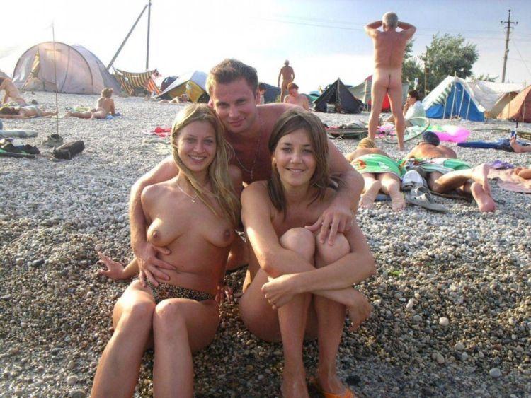 Hot days on a nudist beach - 11