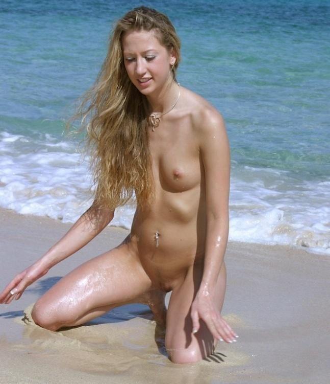 Hot days on a nudist beach - 14