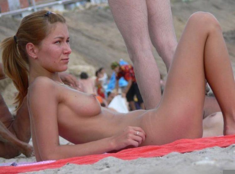 Hot days on a nudist beach - 24
