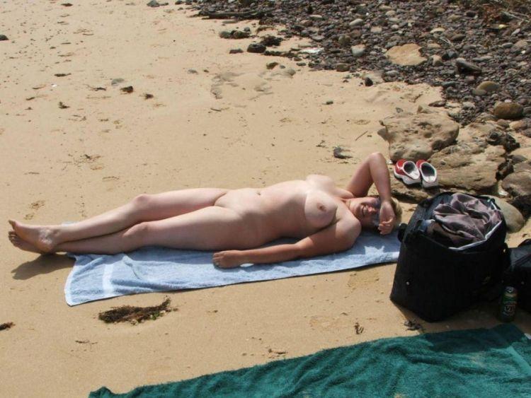 Hot days on a nudist beach - 38