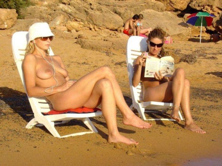 Hot days on a nudist beach - 42