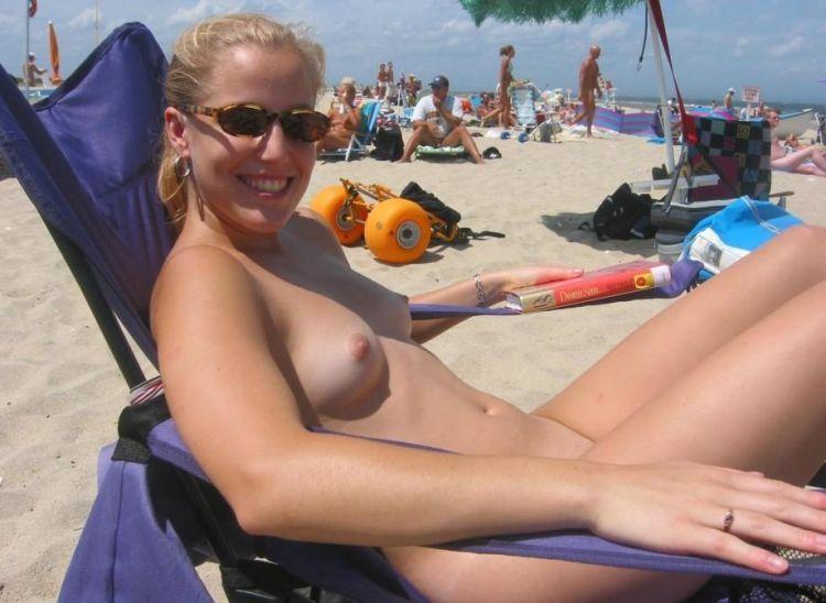 Hot days on a nudist beach - 62