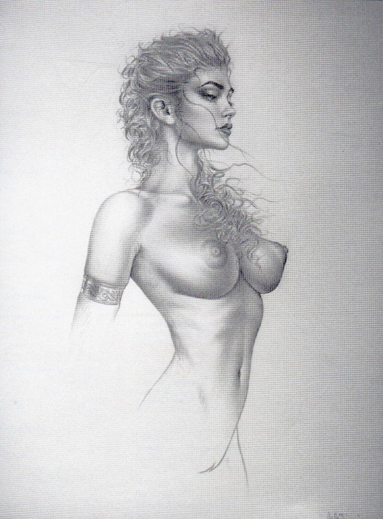 Рисунок голая девушка 30157 фотография
