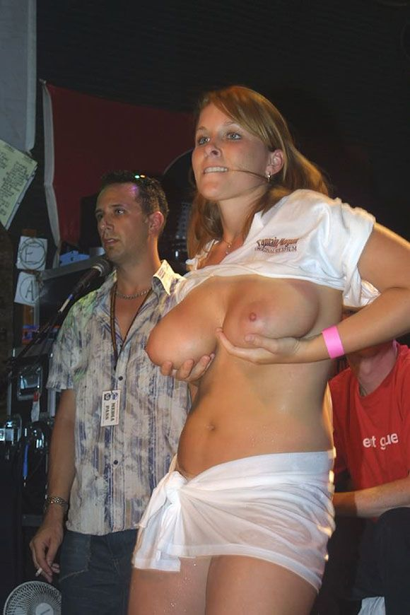 Naughty muchachas showing their boobs without hesitation - 05