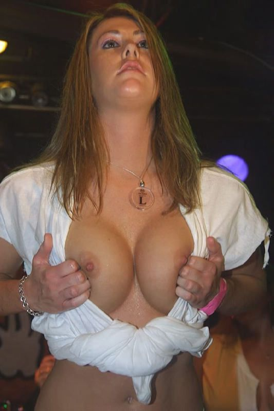 Naughty muchachas showing their boobs without hesitation - 06