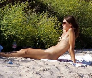 Little tits on nudist beaches