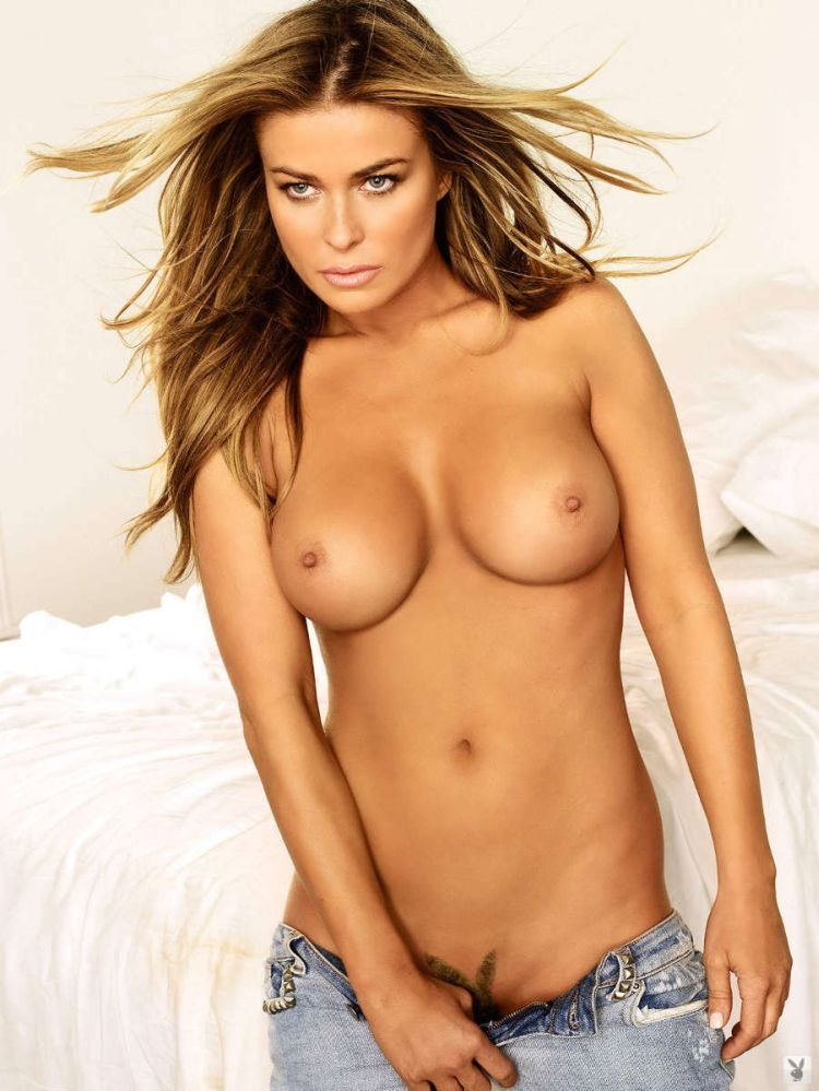 Very carmen electra hot pussy against